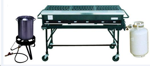 Rent Grills & Stoves